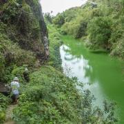 Sentier de la ravine du Bernica.