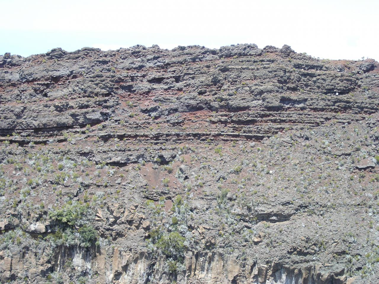 cratère Commerson projections