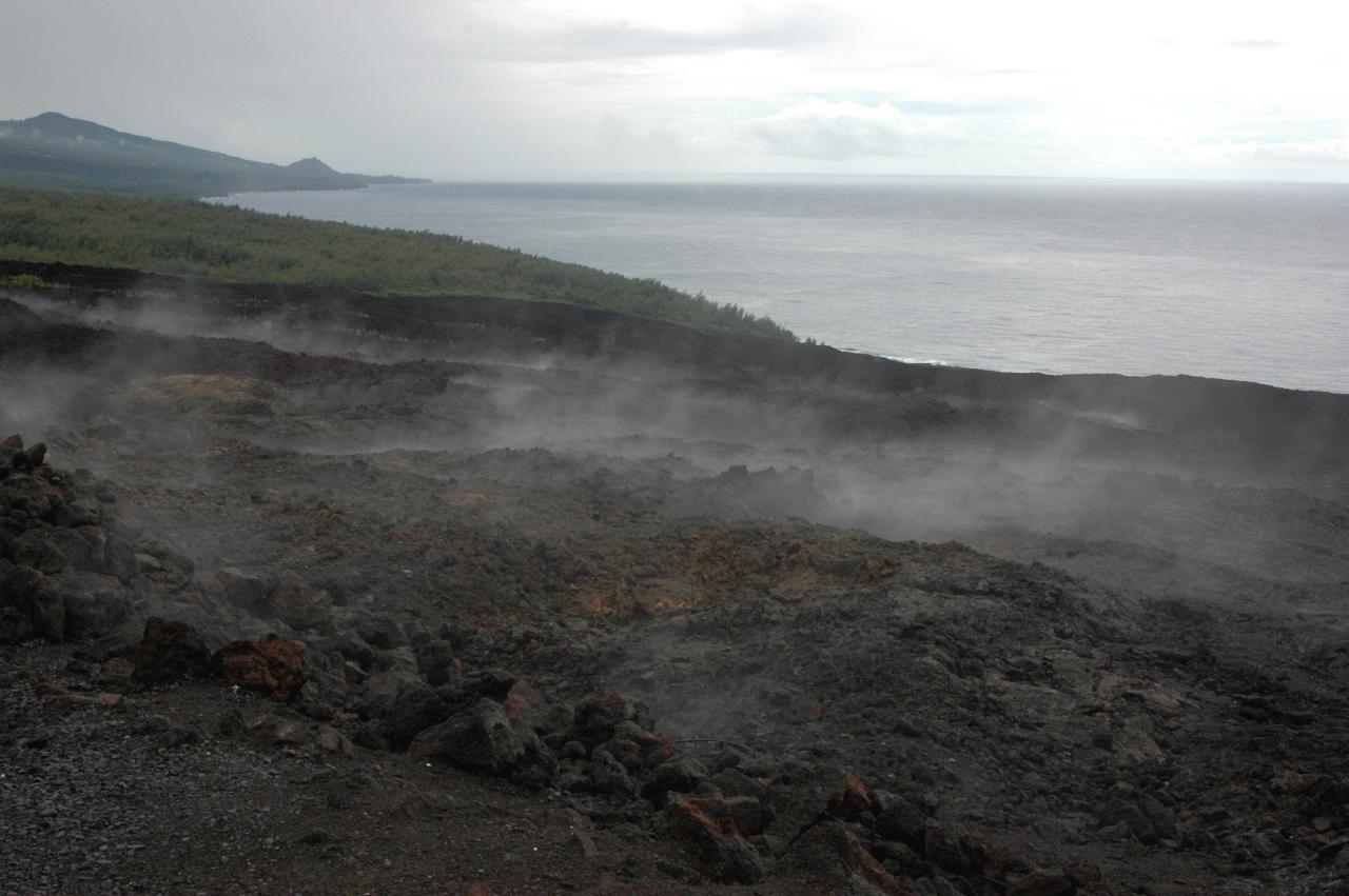 Coulée 2007 vers l'océan