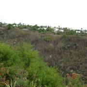 La ravine du Bernica vue du plateau Manery.