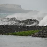 Houle cyclone Gaël 2009 D Helsens
